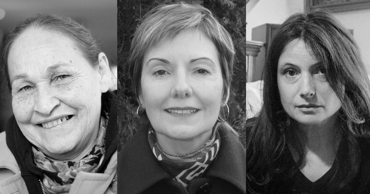 Joséphine Bacon, Louise Dupré et Violaine Forest