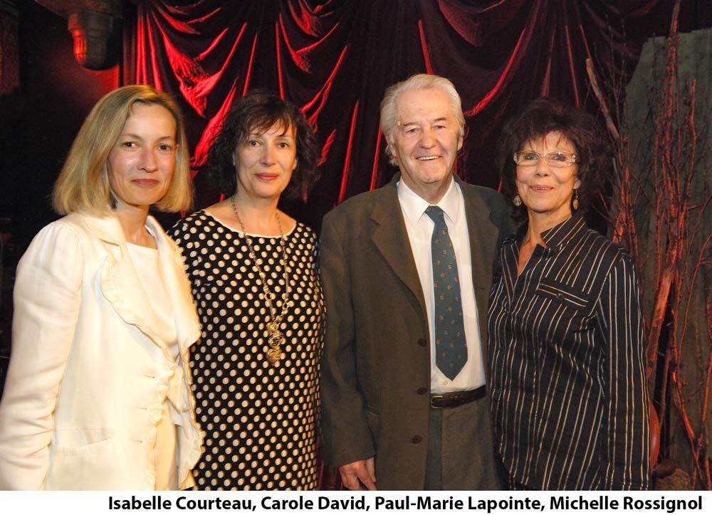 Hommage à Paul-Marie Lapointe, Maison de la poésie de Montréal