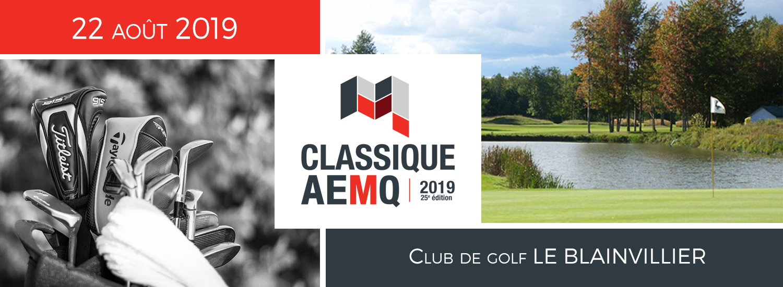 Classique AEMQ, 22 août 2019, Club de Golf Le Blainvillier