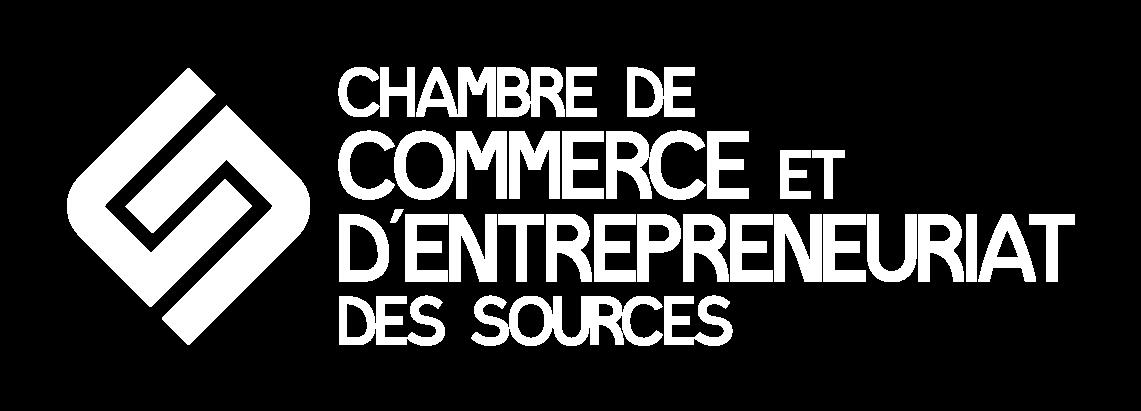 Logo Chambre de commerce et d'entrepreneuriat des Sources
