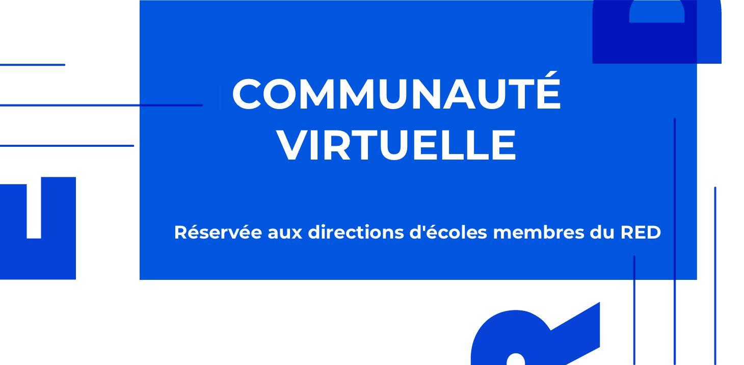 Communauté virtuelle des directions d'écoles de danse membre du RED