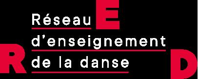 Logo Réseau d'enseignement de la danse (RED)
