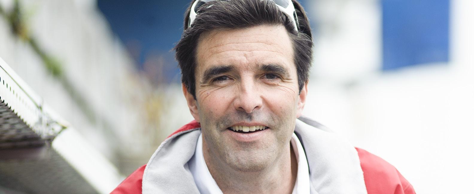 Le skipper belge innove en rêvant du Vendée Globe