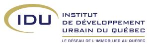 Logo - IDU - Institut de Développement Urbain du Québec