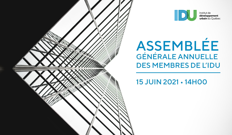 Assemblée générale annuelle 2021 des membres de l'IDU