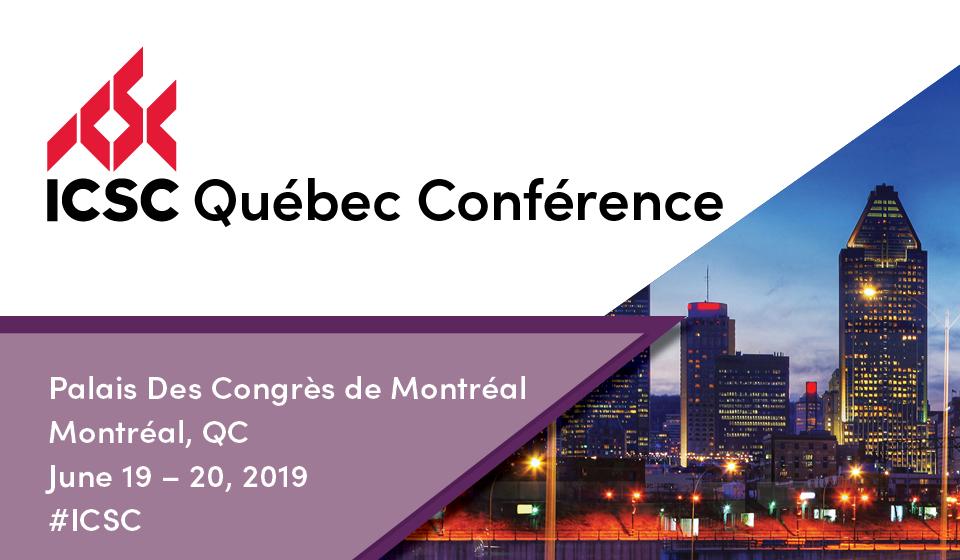Événement partenaire - ICSC Québec conférence