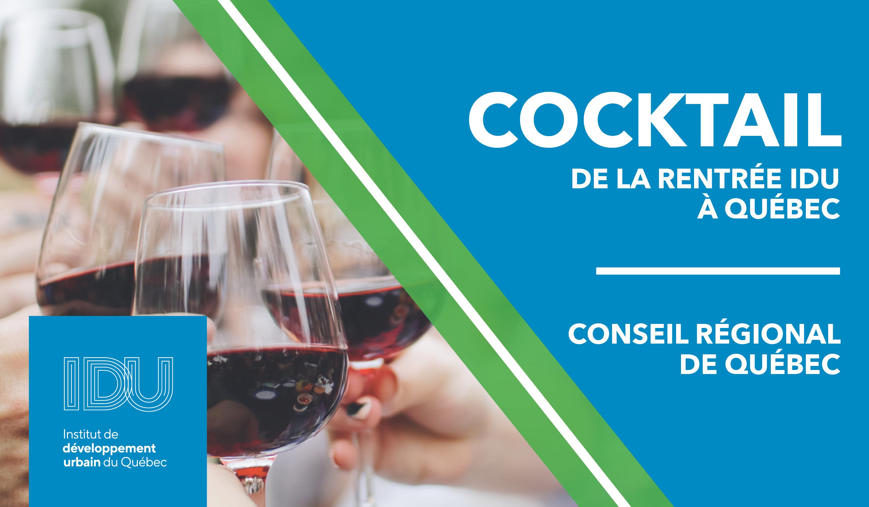 Cocktail de la rentrée du Conseil Régional de Québec