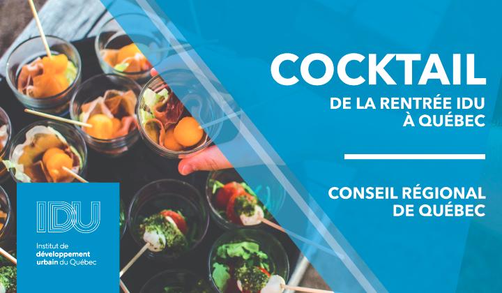 Cocktail de la rentrée à Québec