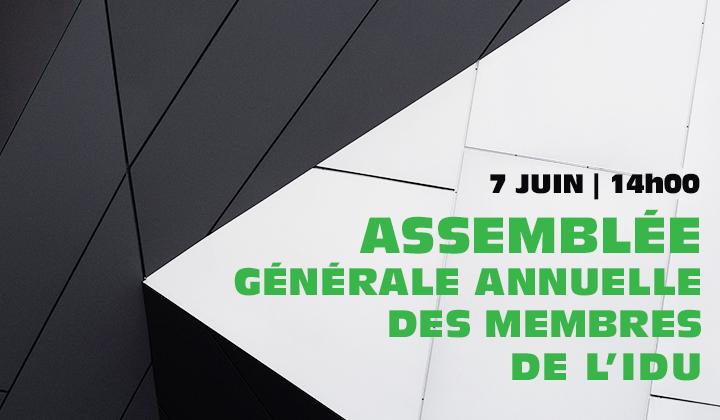 Assemblée générale annuelle des membres 2018