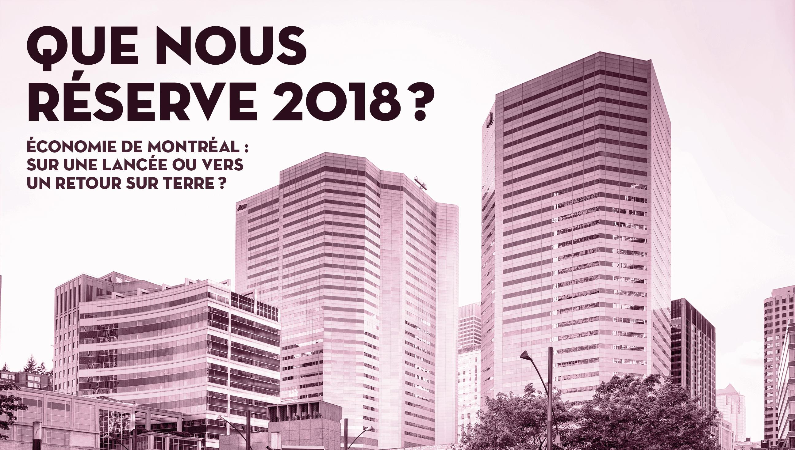 Conférence : Les Perspectives Montréal 2018