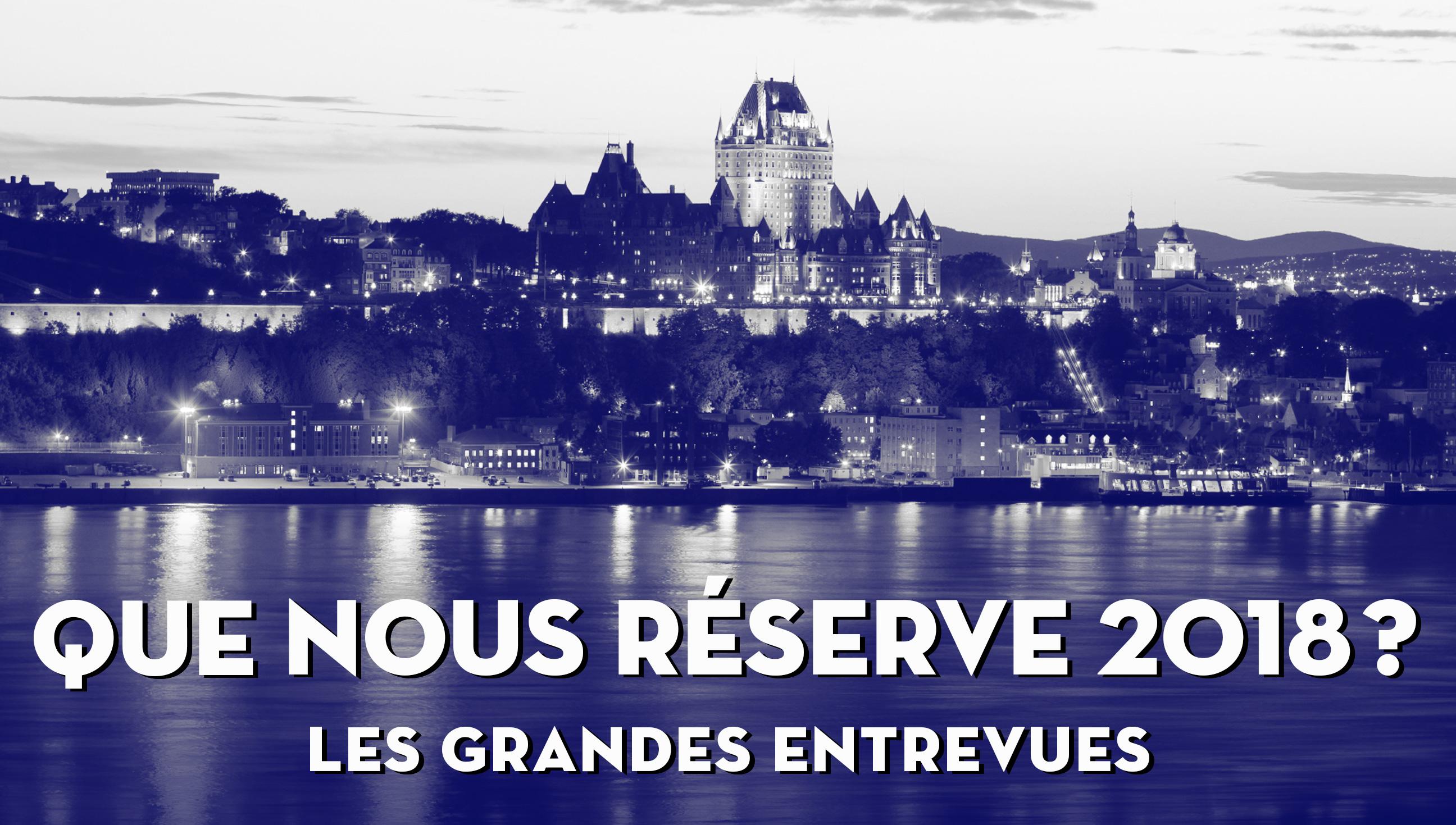 Conférence : Les Perspectives Québec 2018