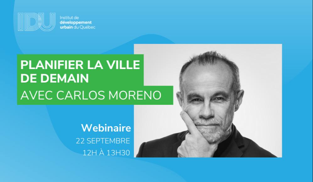 Planifier la ville de demain avec Carlos Moreno