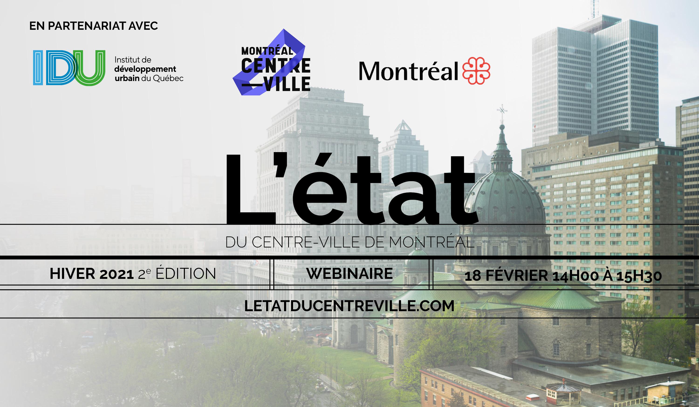 L'état du centre-ville de Montréal 2021 - 2e édition