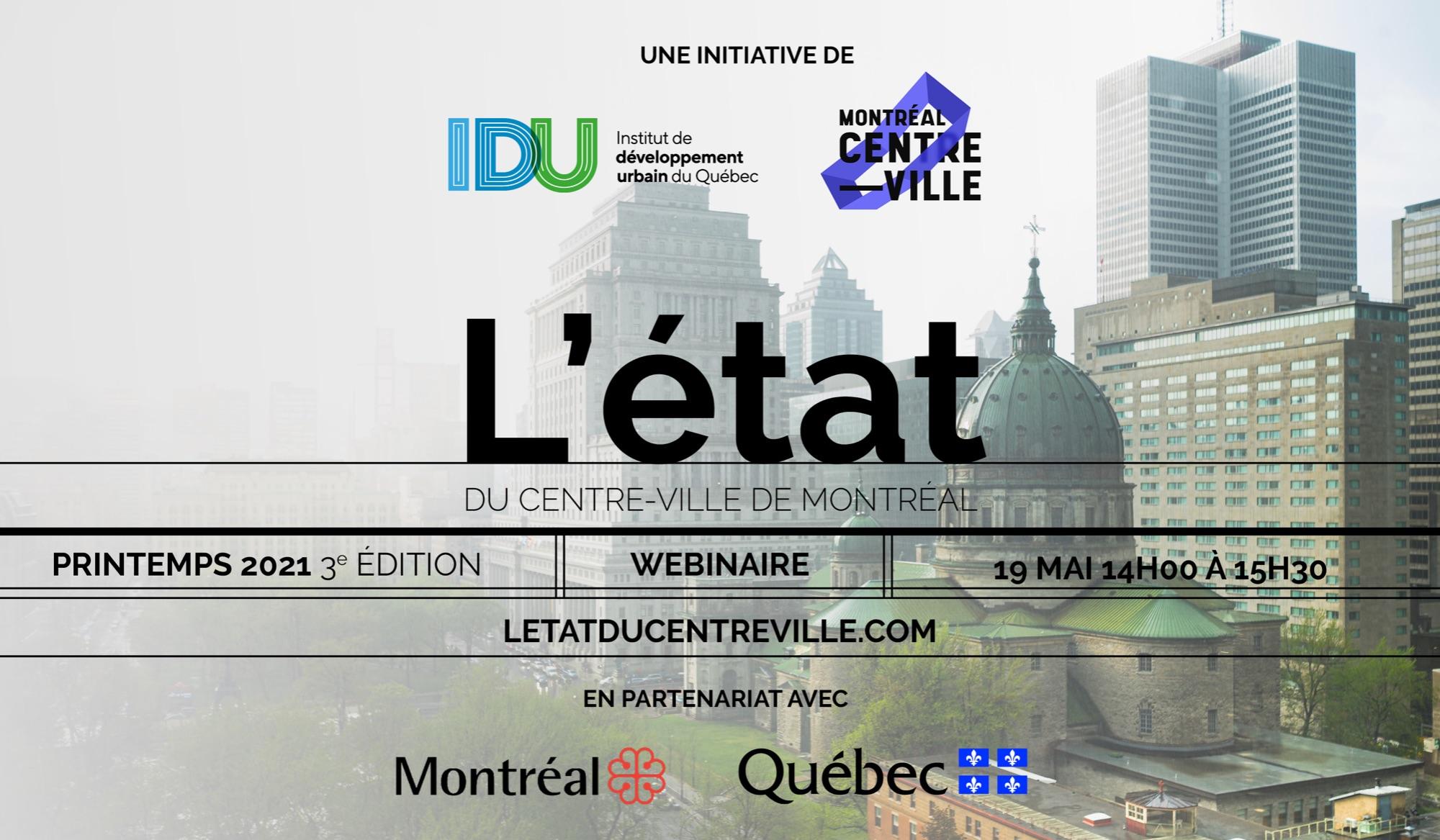 L'état du centre-ville de Montréal 2021 - 3e édition