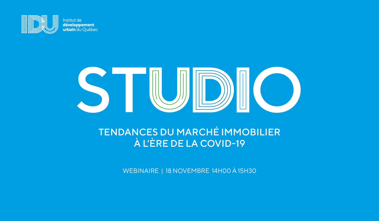 STUDIO IDU - Tendances du marché immobilier à l'ère de la Covid-19