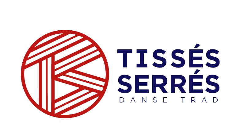 Logo Tissés Serrés, danse traditionnelle