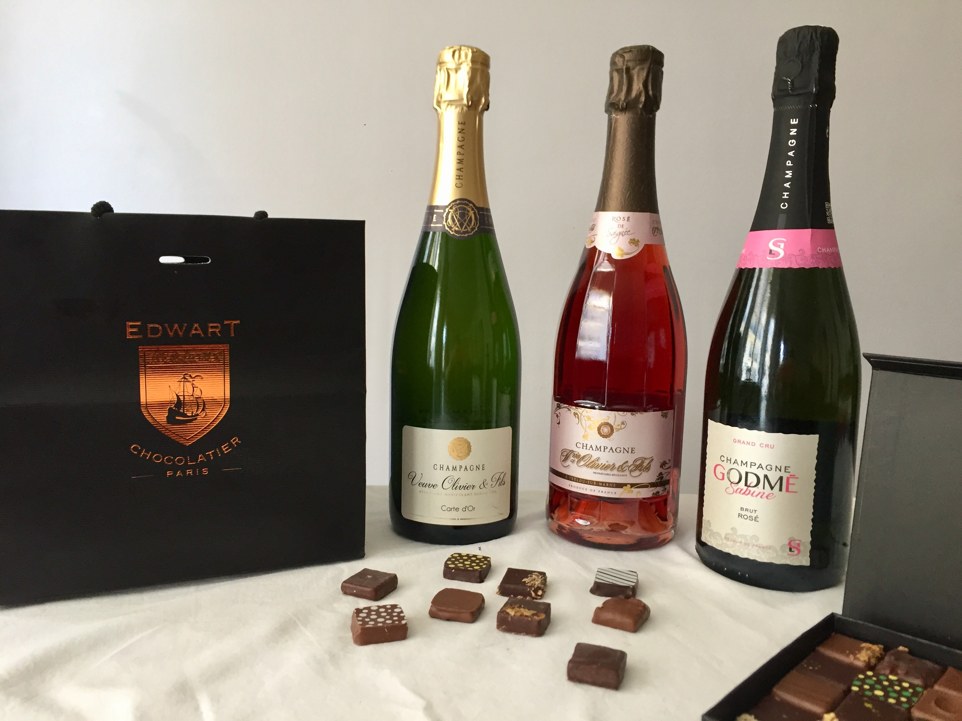 Chocolate and Champagne Masterclass