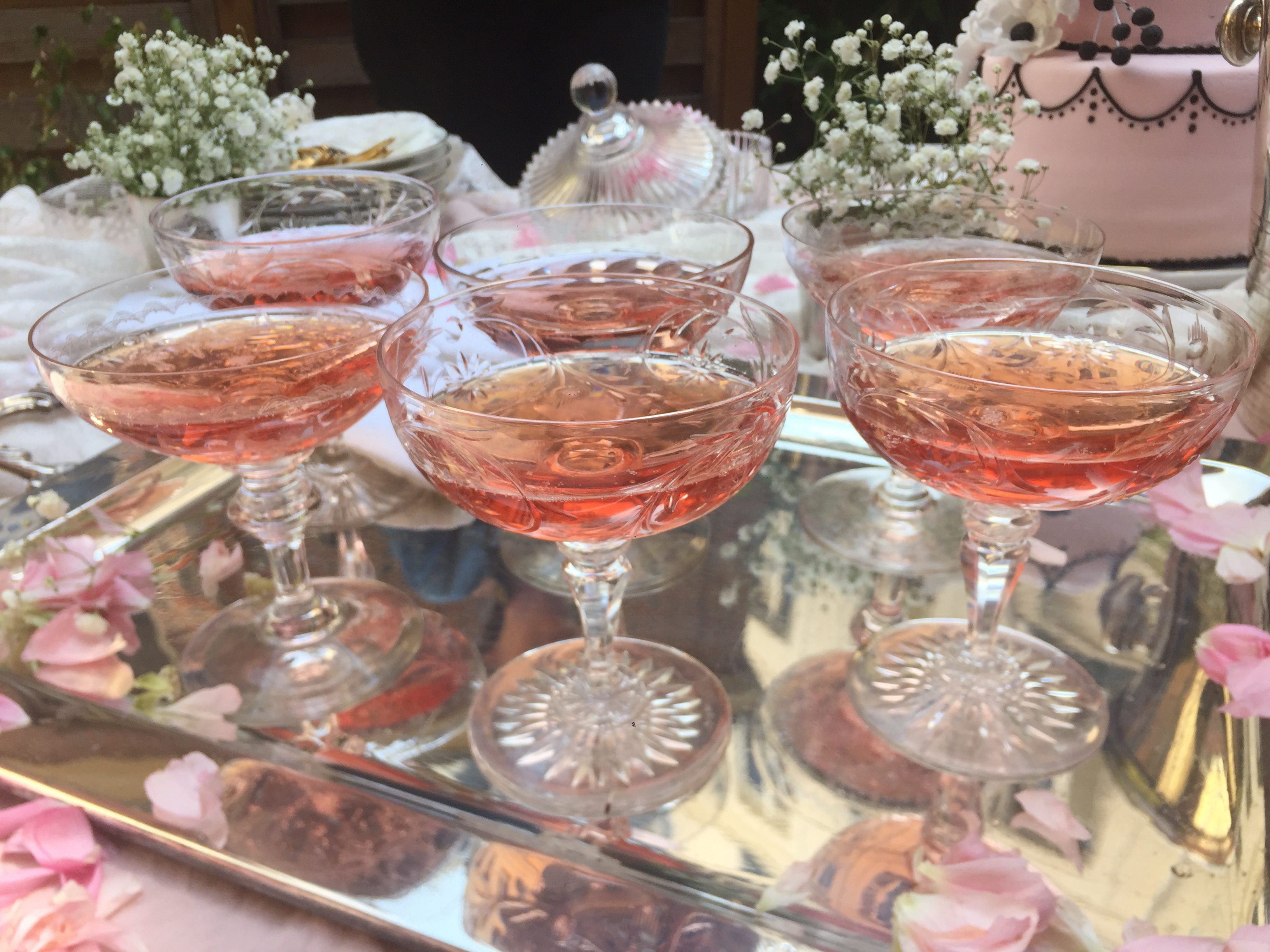 Pink Champagne Networking Party