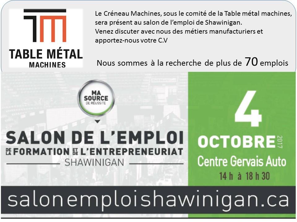 Cr neau machines - Salon de l emploi lyon ...