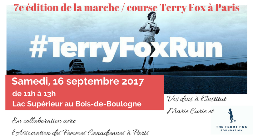 Journée Terry Fox à Paris 2017