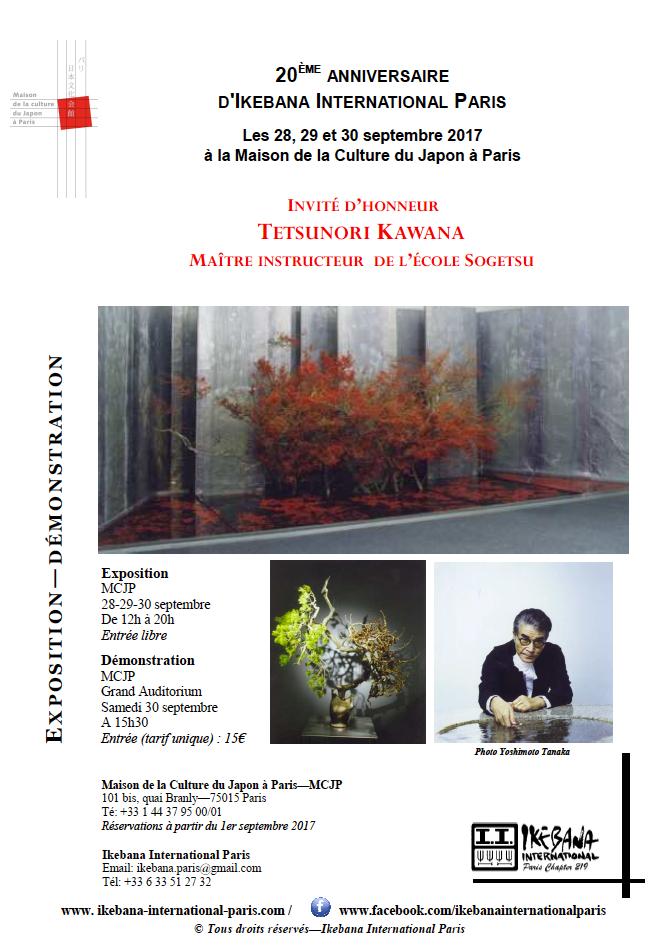 Exposition commentée : Ikebana, art floral japonais