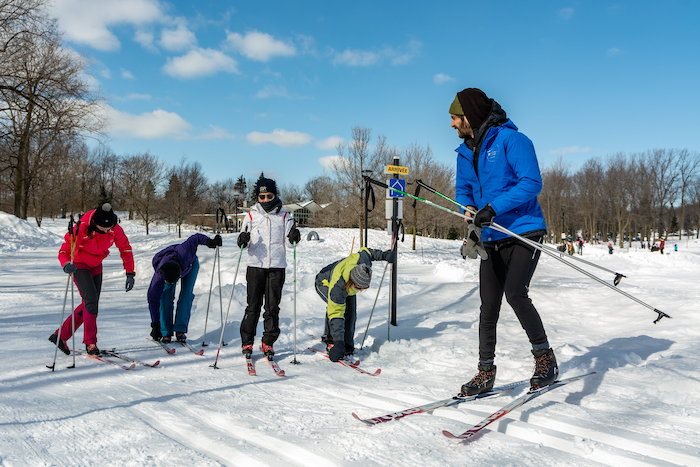 Cross-Country Ski Lessons for Adults