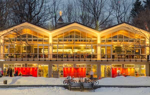 Souper de la Saint-Valentin au Pavillon du Lac-aux-Castors