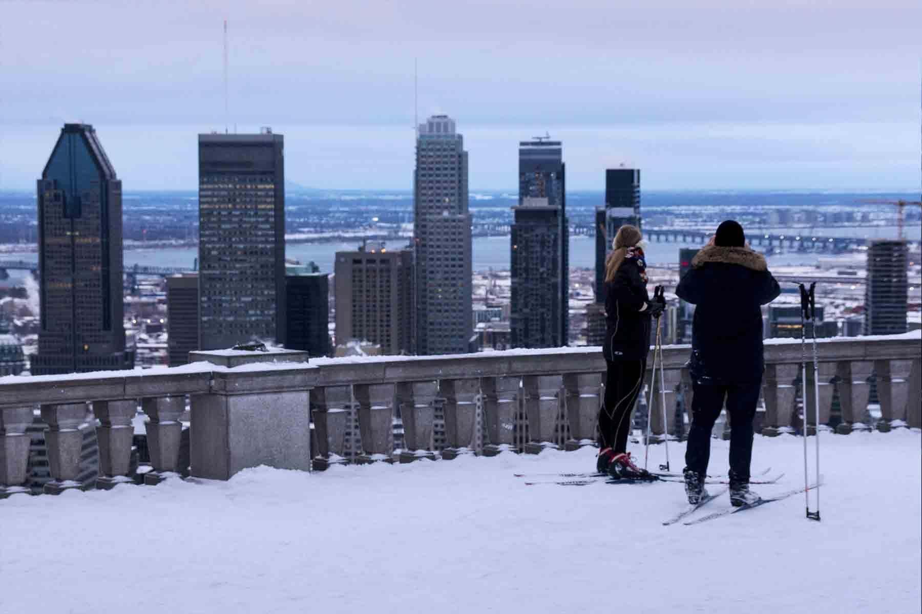 Séances de ski de fond pour adultes