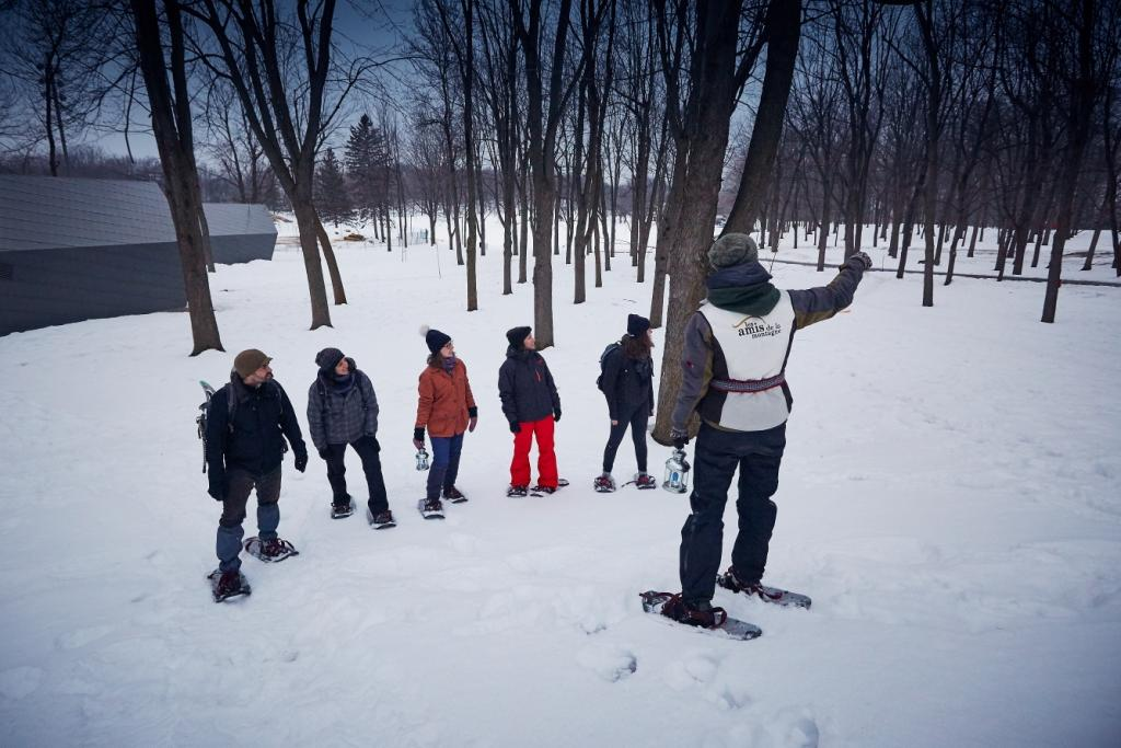 Family-Friendly Snowshoeing - Valentine's Special