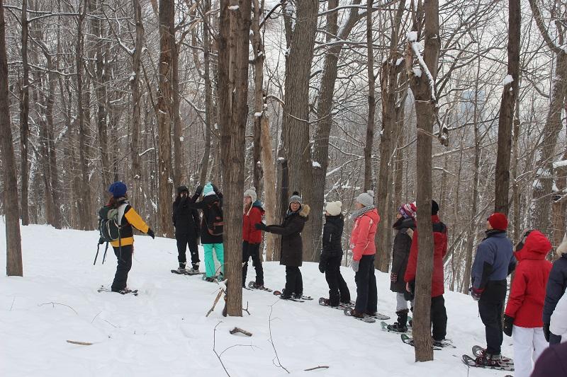 Family Valentine's Snowshoe Excursion
