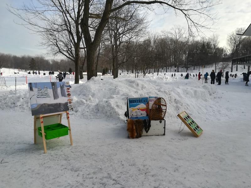 Winter Kiosk