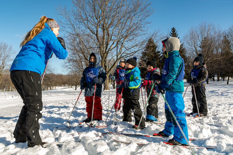 Cross-Country Ski Lessons for Children