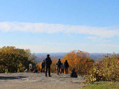 Outremont Summit at Sunset Discovery Walk
