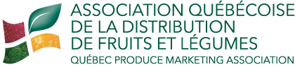 Logo ASSOCIATION QUÉBÉCOISE DE LA DISTRIBUTION DE FRUITS ET LÉGUMES / QUEBEC PRODUCE MARKETING ASSOCIATION