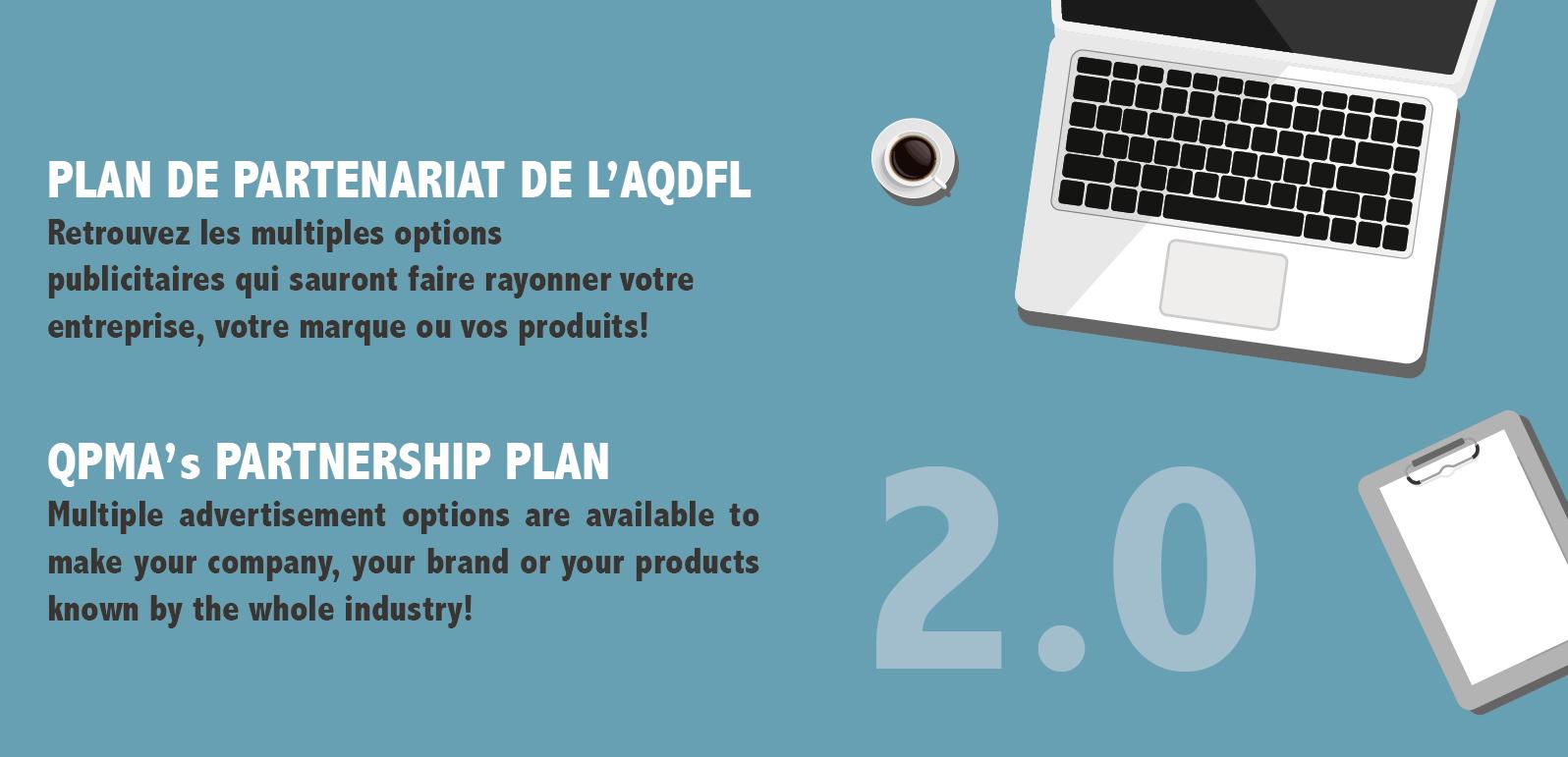 Plan de partenariat 2.0 de l'AQDFL : une multitude d'opportunités !