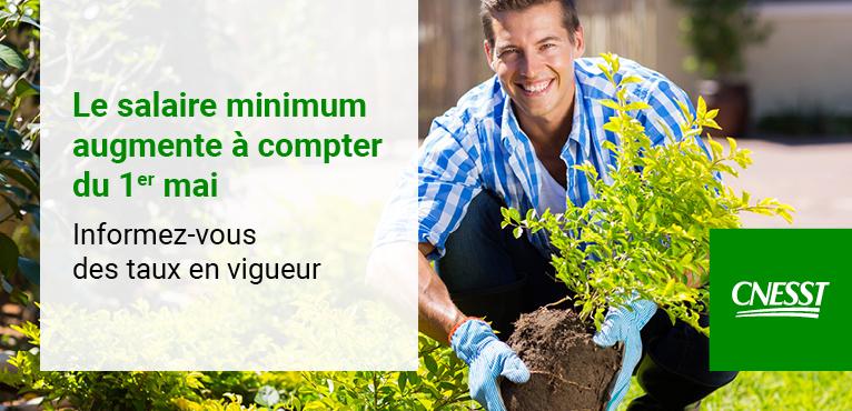 Augmentation du salaire minimum : informez-vous