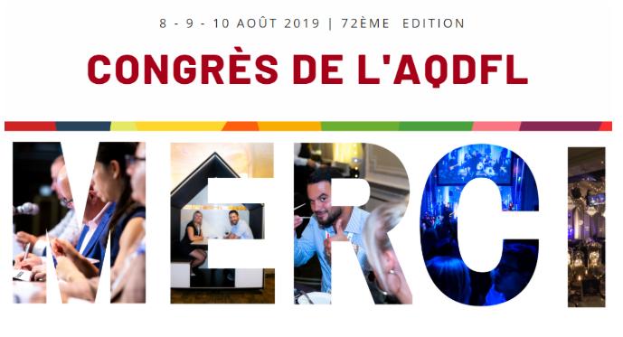 Retour sur le congrès 2019 au château Frontenac!