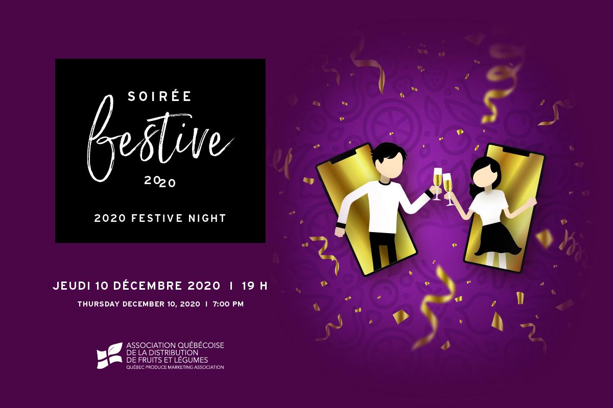 Soirée festive - 10 décembre 2020, 19h