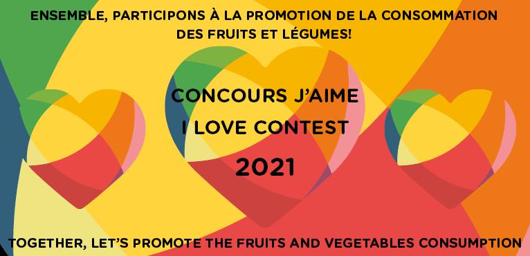 Concours J'aime - édition 2021