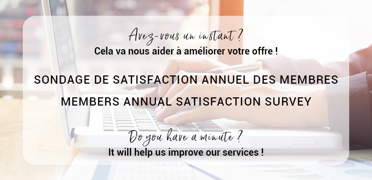 Annual satisfaction survey