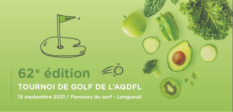 Tournoi de golf AQDFL 2021