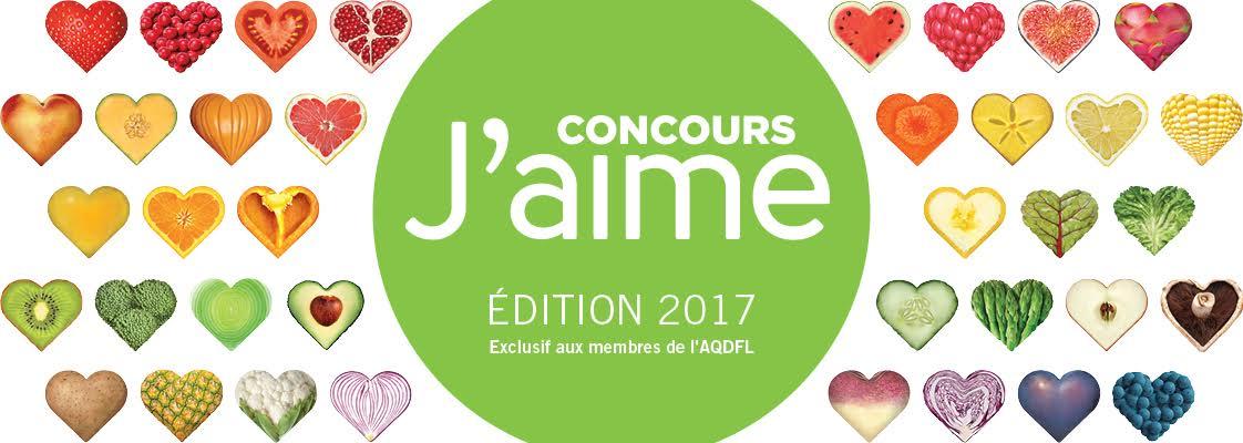 Concours J'aime Édition 2017