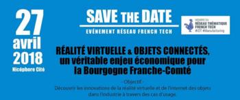 French Tech réalité virtuelle et objets connectés