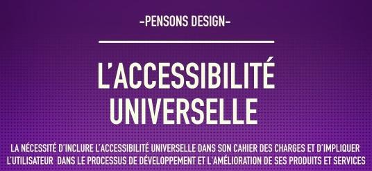 Pensons Design : Accessibilité universelle