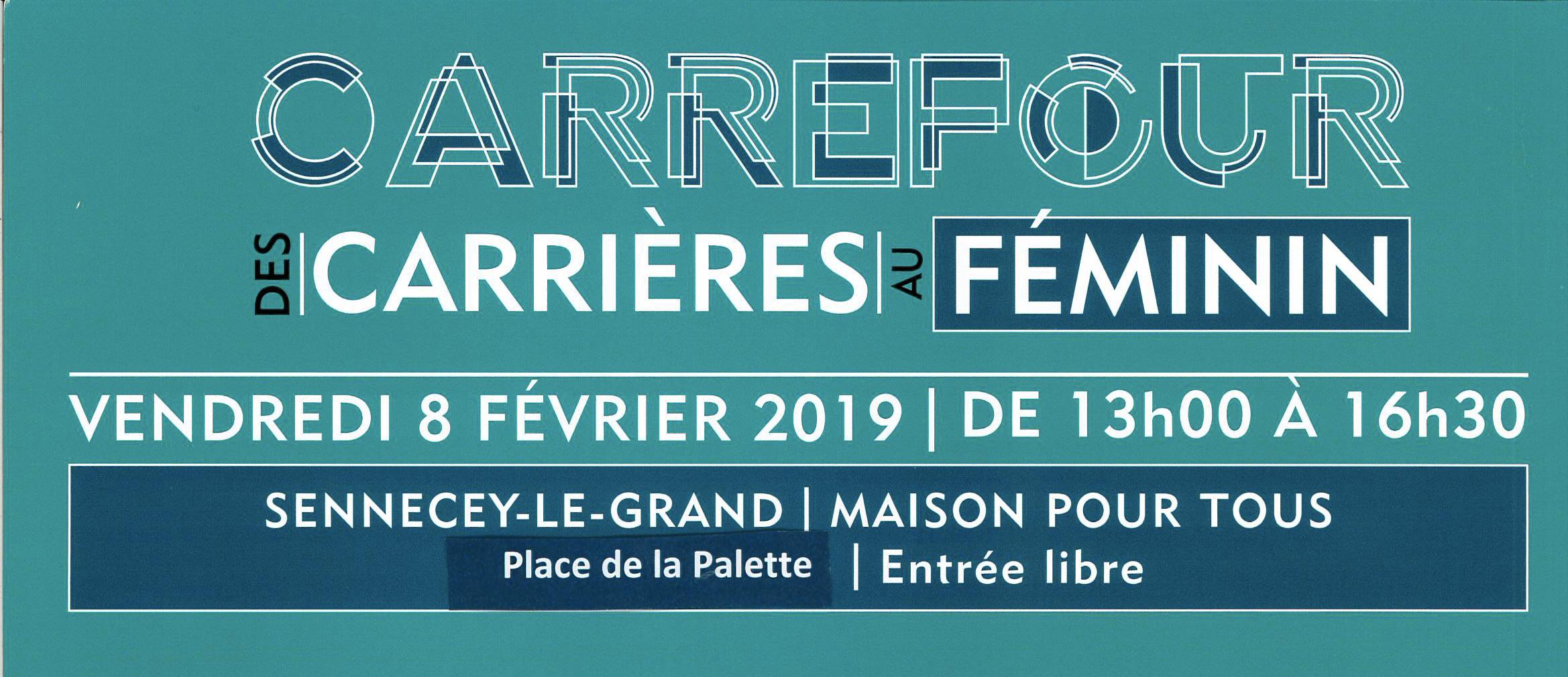Carrefour des carrières au féminin (71)