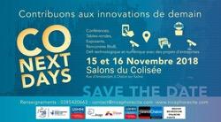 Co-Next Days : contribuons aux innovations de demain