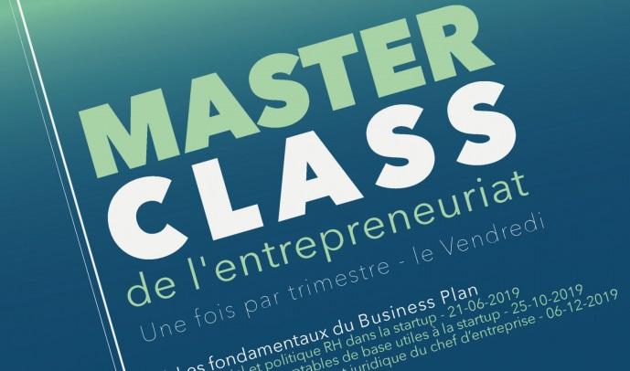 Masterclass de l'entrepreneuriat -