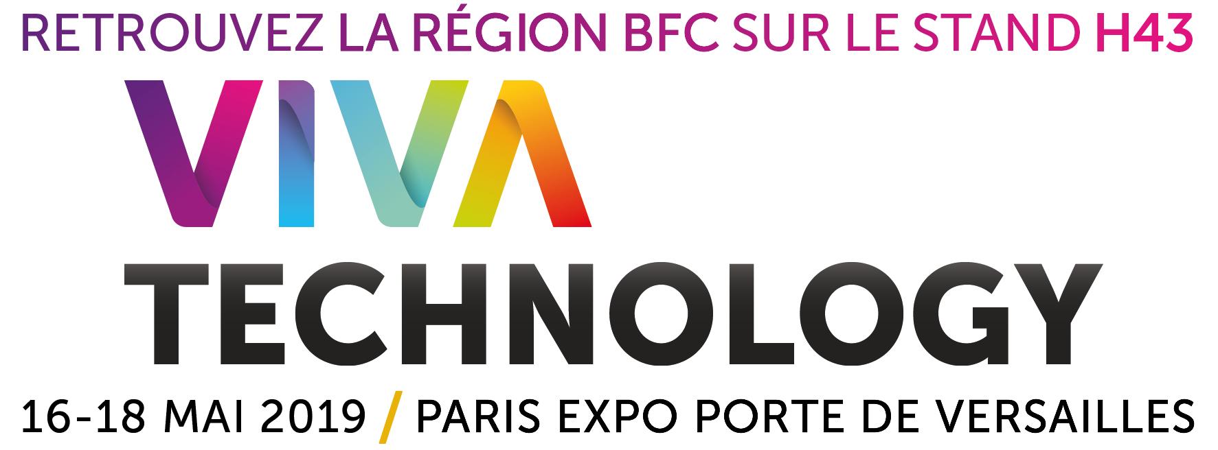 Retrouvez la région BFC au salon VivaTech