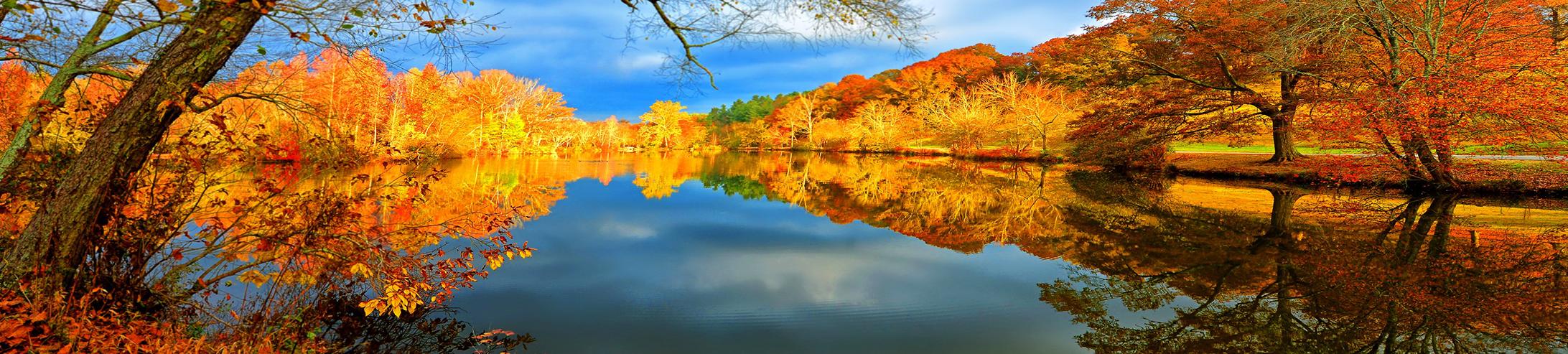 036 Photo carrousel Lac en automne