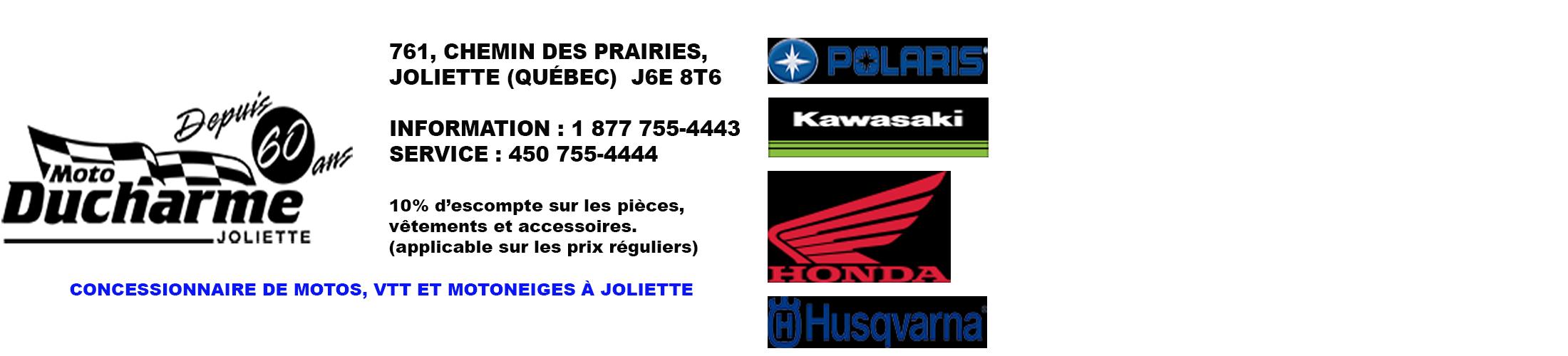 Moto Ducharme Joliette